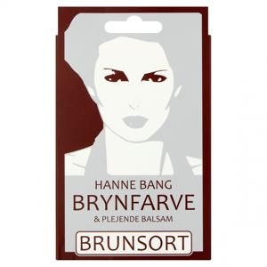 Hanne Bang Brynfarve Brunsort 1 stk Vippe & Øjenbrynsfarve