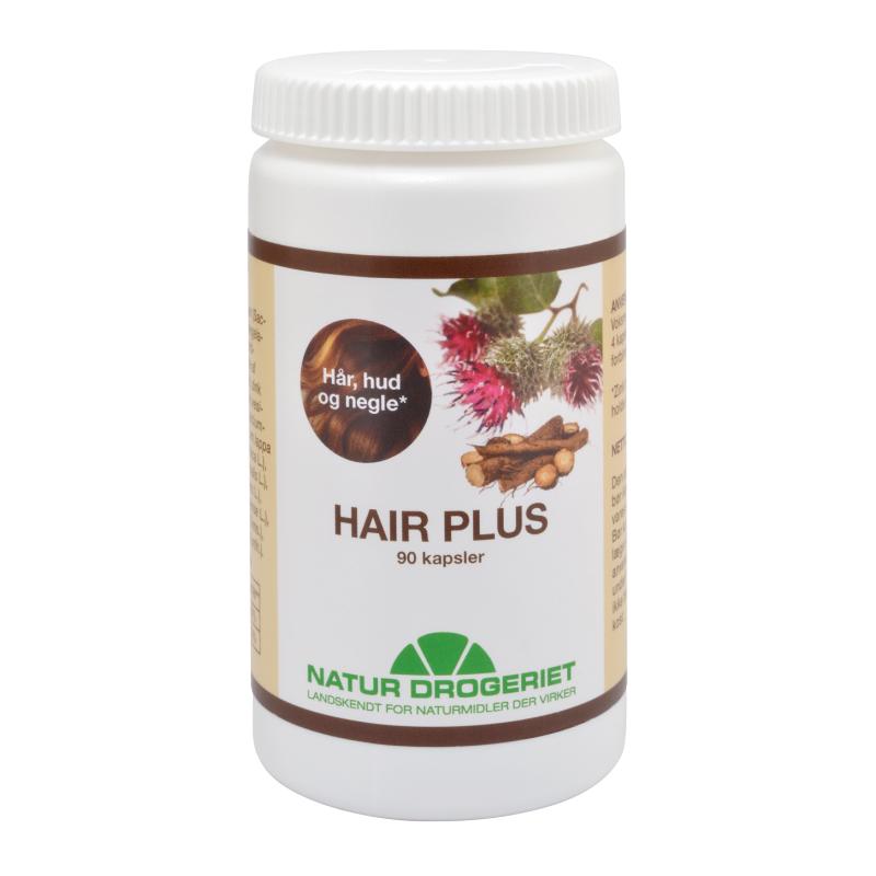 Hair Plus Kapsler 90 stk Hårvitaminer