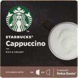 Starbucks Dolce Gusto Cappuccino 12 stk Kaffekværn