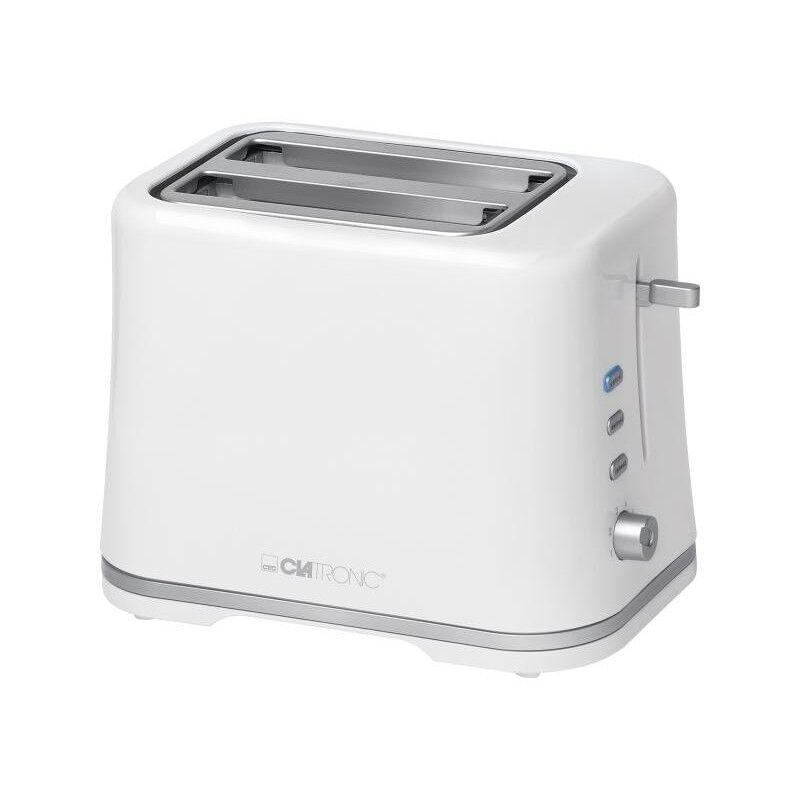 TA 3554 Toaster Hvid Sølv 1 stk Køkkenudstyr