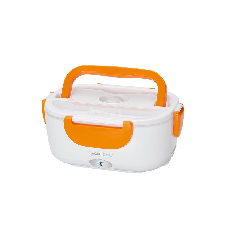 LB 3719 Elektronisk Madkasse Hvid & Orange 1 stk Køkkenudstyr