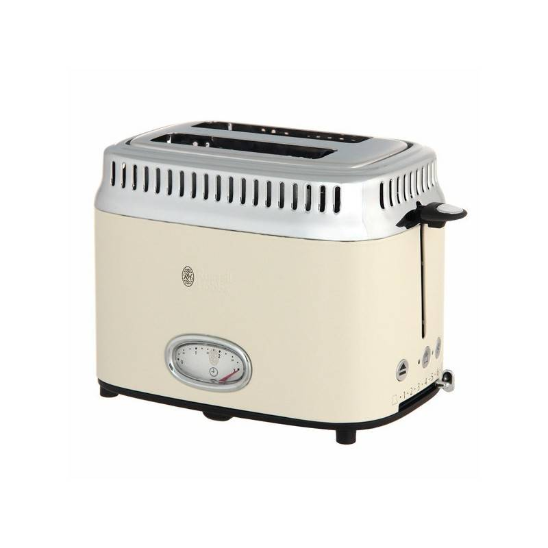 21682-56 Retro Cream 2 Slice Toaster 1 stk Køkkenudstyr