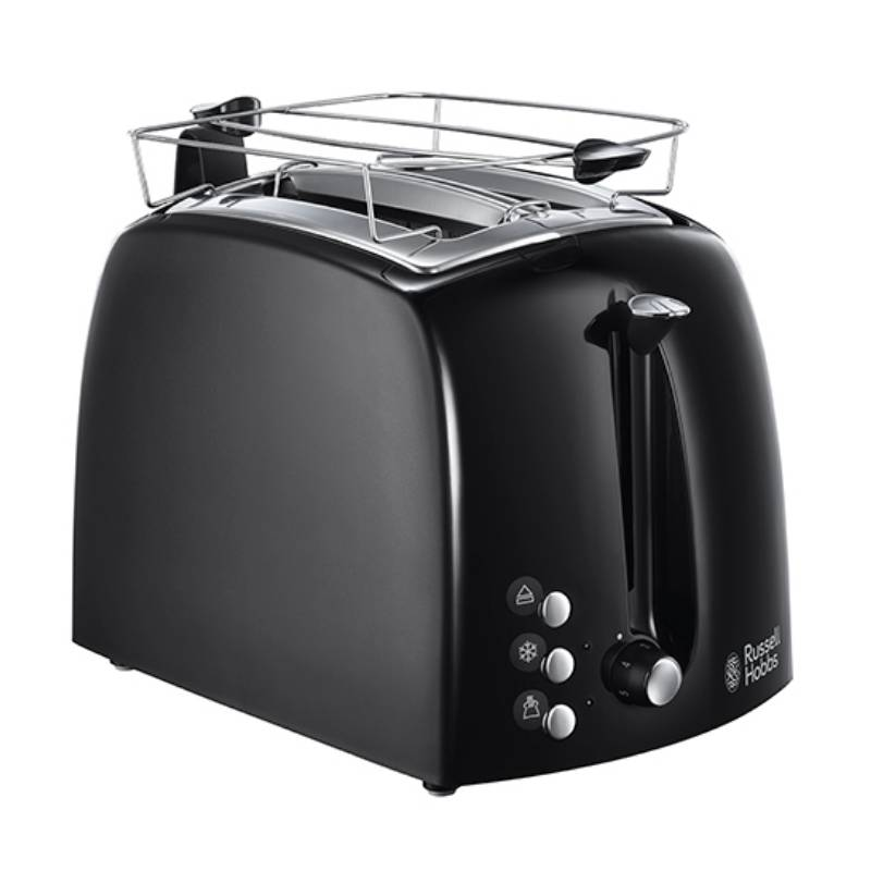 22601-56 Textures Plus Toaster Black 1 stk Køkkenudstyr
