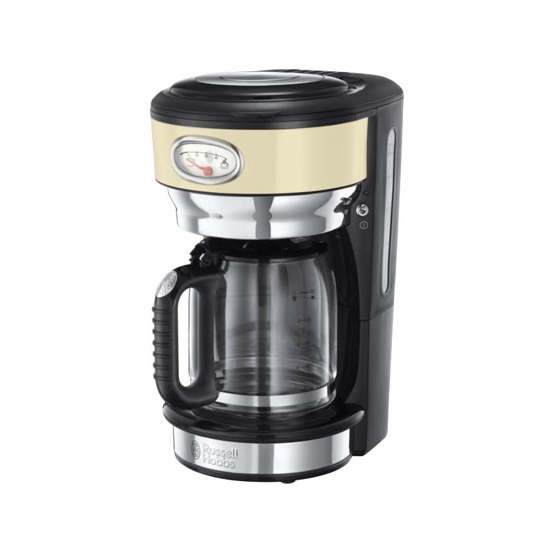 21702-56 Retro Coffee Maker Cream 1 stk Køkkenudstyr