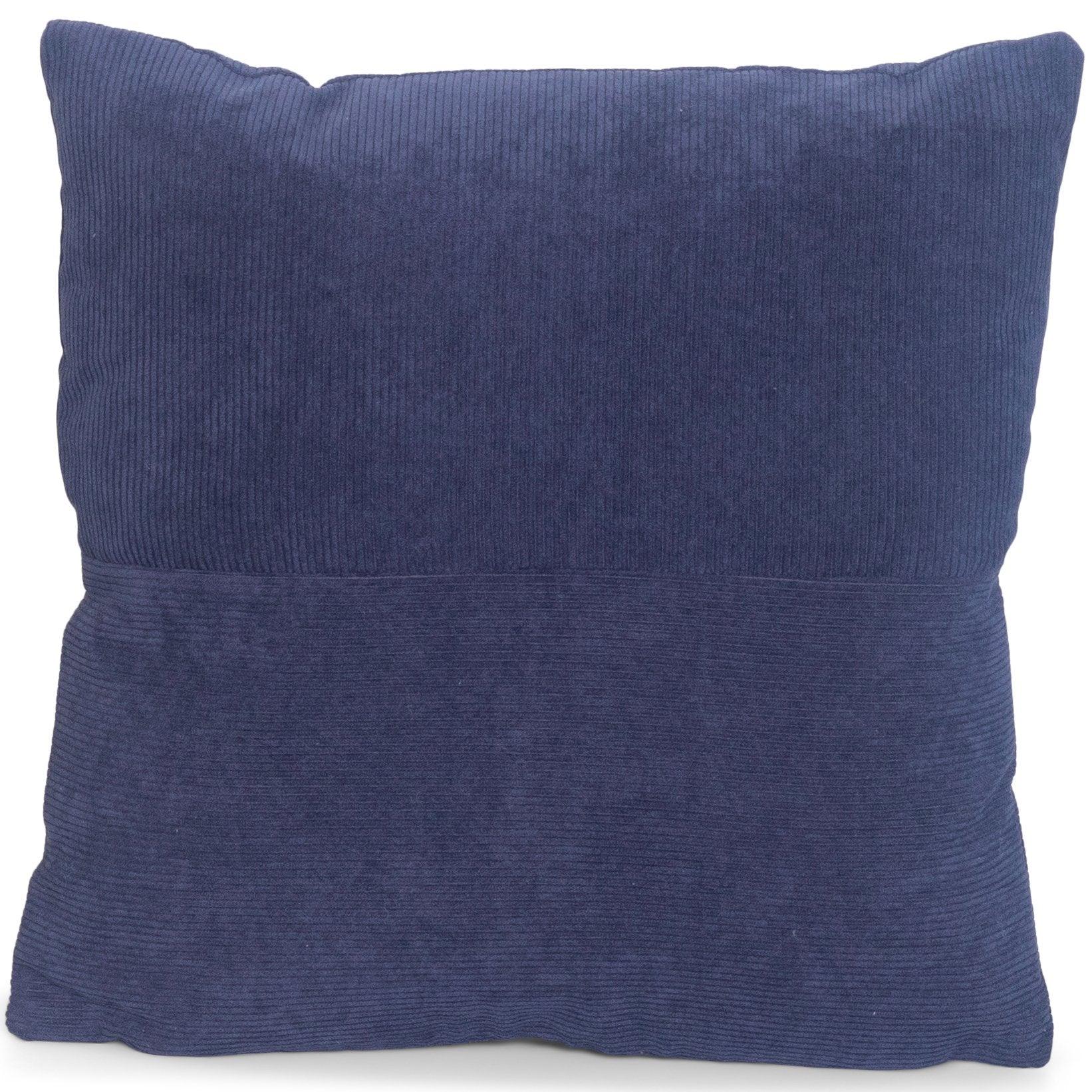 Nimara.se Ellen pude i blå fløjl 45x45 cm