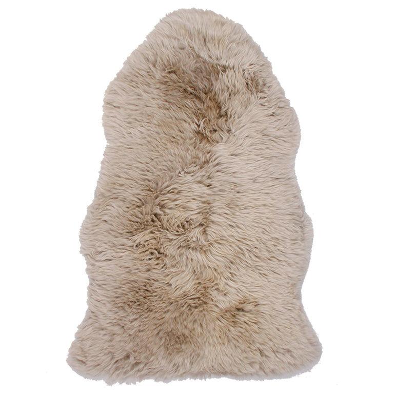 Nimara.dk Beige lammeskind - New Zealand 100x65 cm
