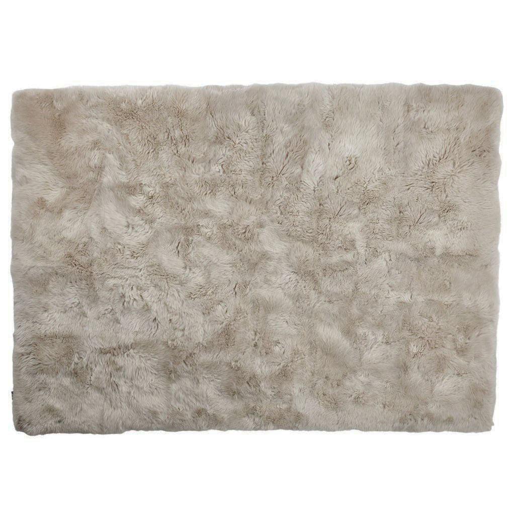 Nimara.dk Lammeskindstæppe i beige 120x180 cm - New Zealand