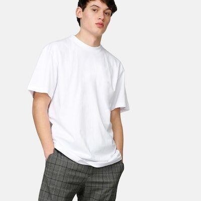 Urban Classics Taller Tee - Tall Hvid Male L