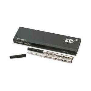 Montblanc 2 Ballpoint Pen Refill Mystery Black men One size Sort
