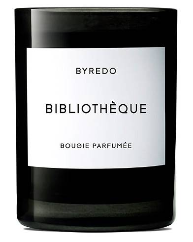 BYREDO Candle Bibliothèque 240gr men One size