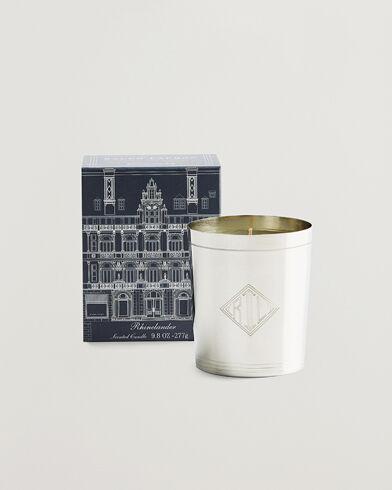 Ralph Lauren Home Rhinelander Flagship Single Wick Candle Silver men One size