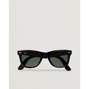 Ray-Ban Original Wayfarer Sunglasses Tortoise/Crystal Green men One size Brun