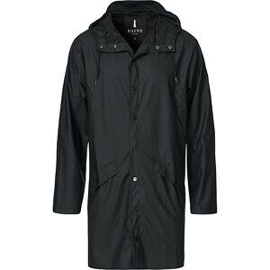Rains Long Jacket Black men L/XL Sort