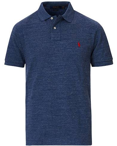 Polo Ralph Lauren Slim Fit Polo Classic Royal Heather men L Blå