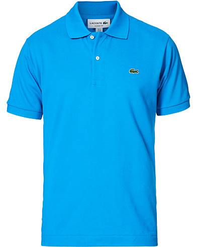 Lacoste Original Polo Piké Ibiza Blue men 3 - S Blå