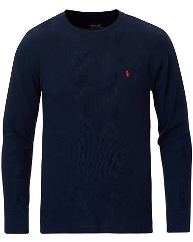 Polo Ralph Lauren Waffle Crew Neck Navy men XXL Blå
