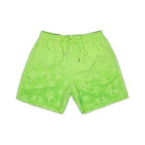 Vilebrequin Moores Aquareactive Turtles Swim Shorts Wasabi Green men L Grøn