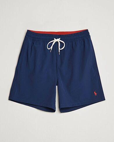 Polo Ralph Lauren Traveler Boxer Swimshorts Newport Navy men S Blå