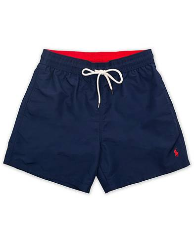 Polo Ralph Lauren Traveler Boxer Swimshorts Newport Navy men L Blå