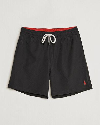 Polo Ralph Lauren Traveler Boxer Swimshorts Polo Black men L Sort