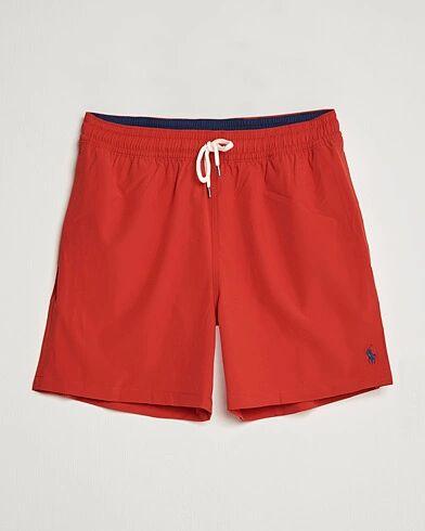 Polo Ralph Lauren Traveler Boxer Swimshorts RL Red men M Rød