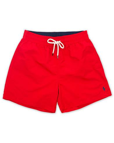 Polo Ralph Lauren Traveler Boxer Swimshorts RL Red men M Rød