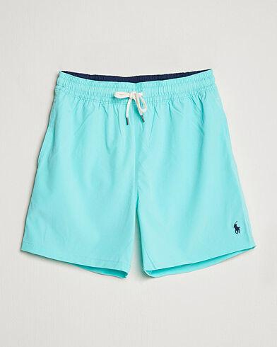 Polo Ralph Lauren Traveler Boxer Swimshorts Hammond Blue men S Blå