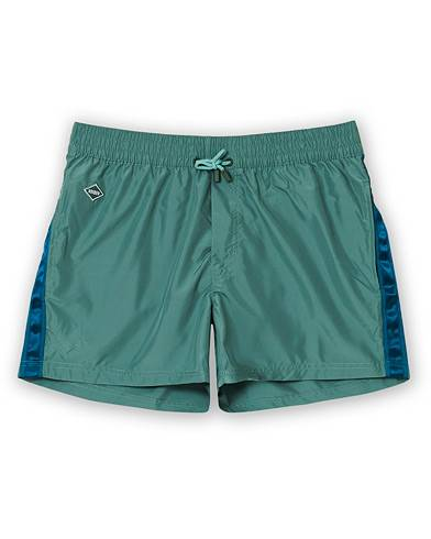 NIKBEN Studio Swim Shorts Jungle men S Grøn