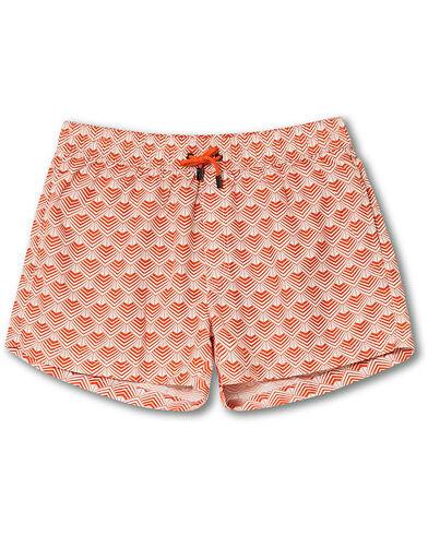 NIKBEN Studio Mr Ripley Swim Shorts Orange/Off White men L Orange