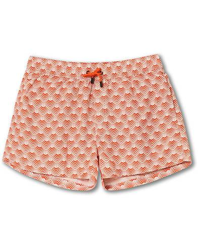 NIKBEN Studio Mr Ripley Swim Shorts Orange/Off White men L Orange