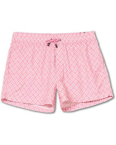 NIKBEN Studio Western Swim Shorts Pink/Off White men M Pink