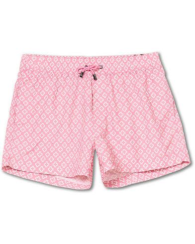 NIKBEN Studio Western Swim Shorts Pink/Off White men L Pink