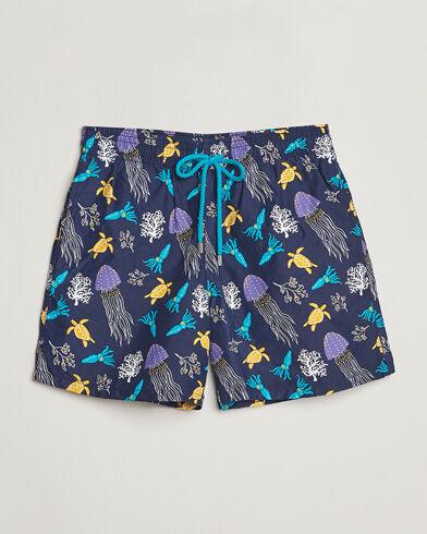 Vilebrequin Moorea Swim Shorts Navy Blue men M Blå