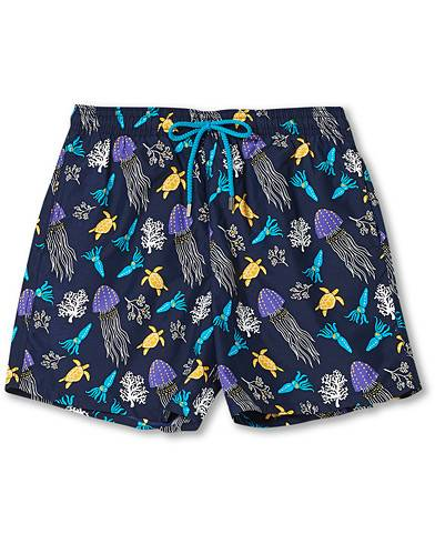 Vilebrequin Moorea Swim Shorts Navy Blue men L Blå