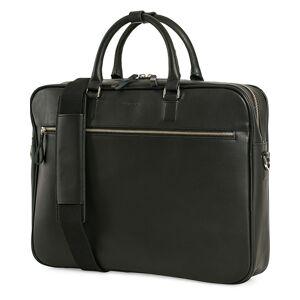 Sandqvist Dag Leather Briefcase Black men One size Sort