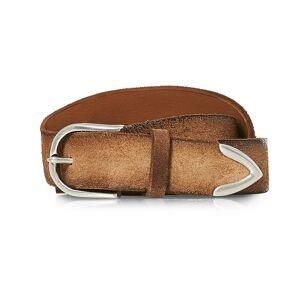 Orciani Handmade Suede Belt 3 cm Sabbia men 90 Brun