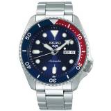 Seiko 5 Sports Mens 43mm 100m Automatic Steel/Blue Dial men One size Sølv