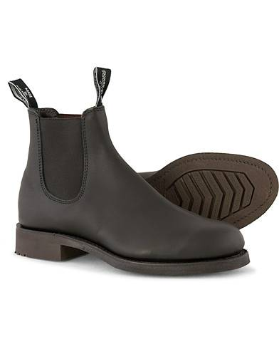 R.M.Williams Gardener G Boot Greasy Kip Black men UK12 - EU47 Sort