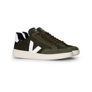 Veja V-12 Mesh Sneaker Olive/White men 41 Grøn