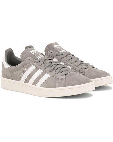 adidas Originals Campus Nubuck Sneaker Grey men EU40 Grå