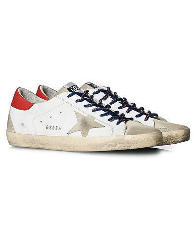Golden Goose Deluxe Brand Super-Star Sneaker White/Red men 43