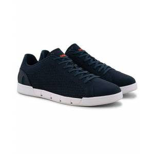 Swims Breeze Tennis Knit Sneaker Navy/White men 44 Blå