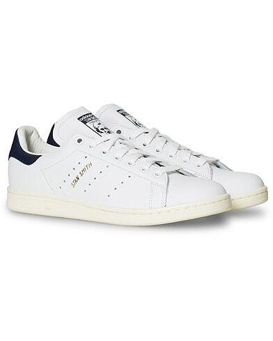 adidas Originals Stan Smith Leather Sneaker White/Navy men EU45 1/3 Hvid