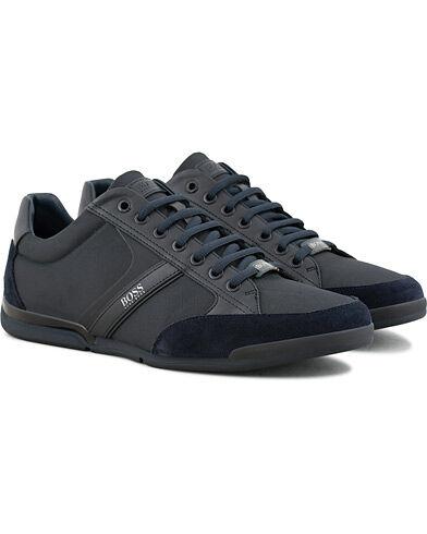 Boss Athleisure Saturn Low Sneaker Navy men 44 Blå