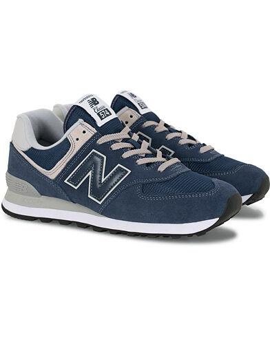 New Balance 574 Sneaker Black Iris men US8 - EU41,5 Blå