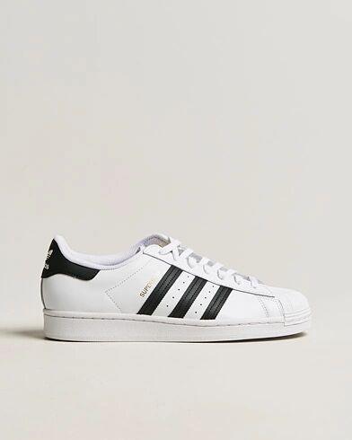 adidas Originals Superstar Sneaker White/Black men UK6,5 - EU40 Hvid