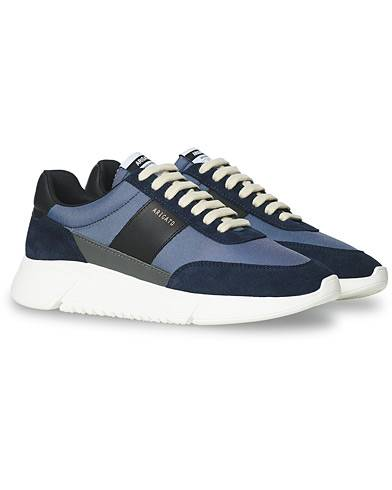 Axel Arigato Genesis Vintage Running Sneaker Navy Suede men 41