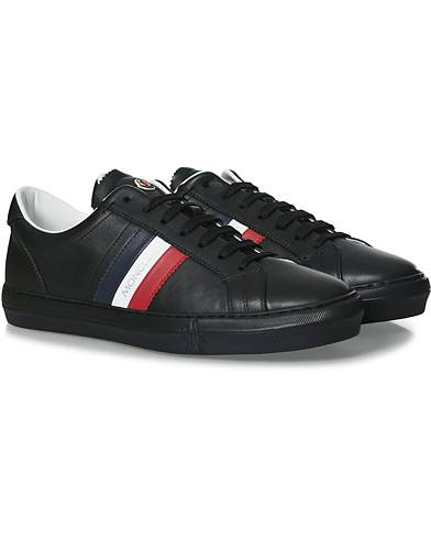 Moncler New Monaco Stripe Sneaker Black men 45