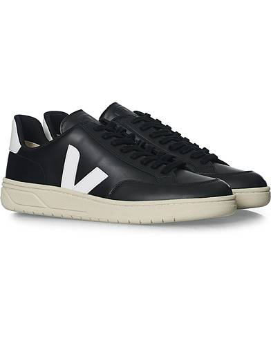 Veja V-12 Leather Sneaker Black/White men 44