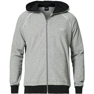 Boss Mix & Match Full Zip Hoodie Medium Grey men M Grå